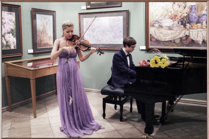 Фото: Школа игры на скрипке Москва