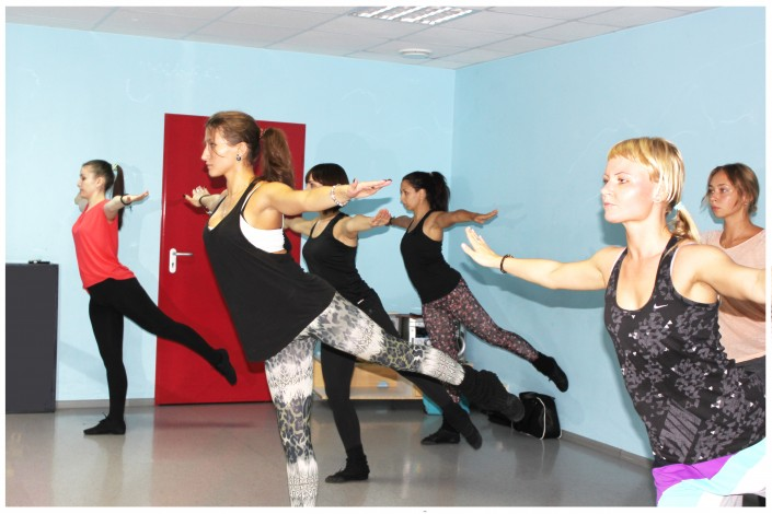 групповые занятия танцев