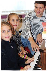 Фото: Обучение игре на фортепиано, синтезаторе, пианино